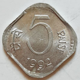 India 5 Paise 1985-1994 KM#23a