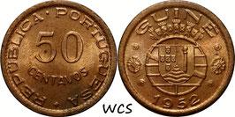 Guinea-Bissau 50 Centavos 1952 KM#8 UNC-