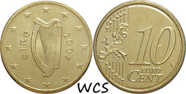 Ireland 10 Cents 2007-2017 KM#47