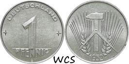 GDR 1 Pfennig 1952-1953 KM#5