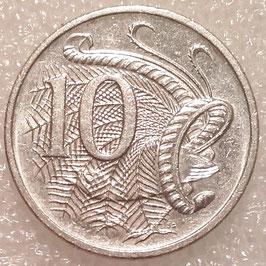 Australia 10 Cents 1985-1998 KM#81