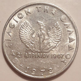 Greece 20 Lepta 1973 KM#104 VF