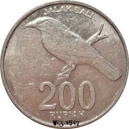 Indonesia 200 Rupiah 2003 KM#66