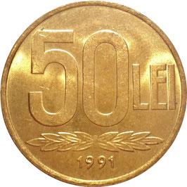 Romania 50 Lei 1991-2003 KM#110