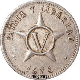 Cuba 5 Centavos 1963-2014 KM#34