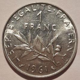 France 1 Franc 1960-2001 KM#925.1