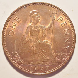 Great Britain 1 Penny 1961-1970 KM#897