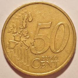 France 50 Cents 1999-2006 KM#1287