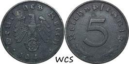 Germany - Third Reich 5 Reichspfennig 1940-1944 KM#100