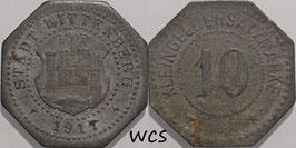 Saxony - Wittenberg 10 Pfennig 1917 Funck#605.2 VF