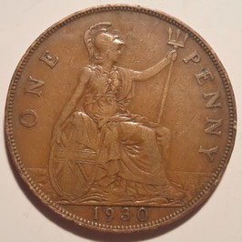 Great Britain 1 Penny 1928-1936 KM#838