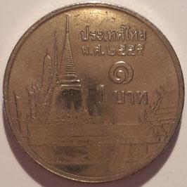 Thailand 1 Baht 2008-2016 Y#443