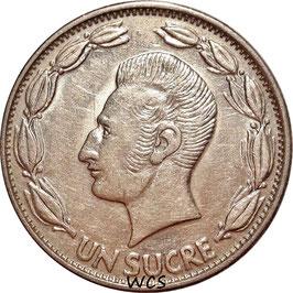 Ecuador 1 Sucre 1964-1981 KM#78