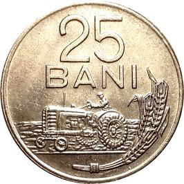 Romania 25 Bani 1966 KM#94 XF