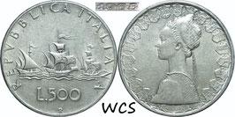 Italy 500 Lire 1965 KM#98 XF