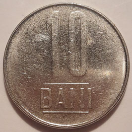 Romania 10 Bani 2005-2017 KM#191