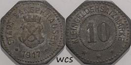 Saxony - Sangerhausen 10 Pfennig 1917 Funck#468.2 VF