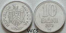 Moldova 10 Bani 1995-2020 KM#7