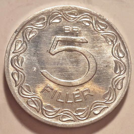 Hungary 5 Filler 1953-1989 KM#549