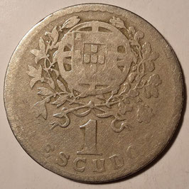 Portugal 1 Escudo 1927-1968 KM#578