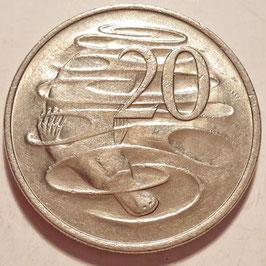 Australia 20 Cents 1966-1984 KM#66