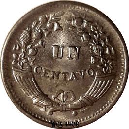 Peru 1 Centavo 1950-1965 KM#227