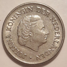 Netherlands 25 Cents 1950-1980 KM#183