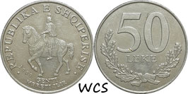 Albania 50 Leke 1996/2000 KM#79
