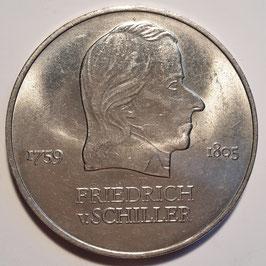 GDR 20 Mark 1972 A - Friedrich von Schiller KM#40