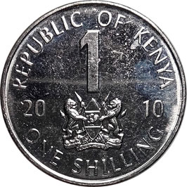 Kenya 1 Shilling 2005-2010 KM#34