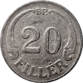 Hungary 20 Filler 1926-1940 KM#508