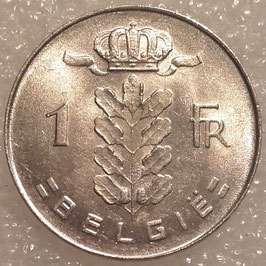 Belgium 1 Franc 1950-1988 BELGIE KM#143.1