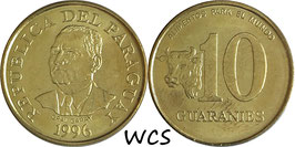 Paraguay 10 Guaranies 1996 F.A.O. KM#178a UNC