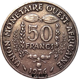 West African States 50 Francs 1972-2014 KM#6