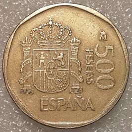 Spain 500 Pesetas 1987-1990 KM#831