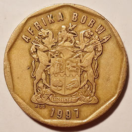 South Africa 50 Cents 1996-2000 KM#163