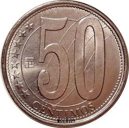 Venezuela 50 Centimos 2007-2012 Y#92