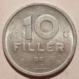 Hungary 10 Filler 1950-1966 KM#547