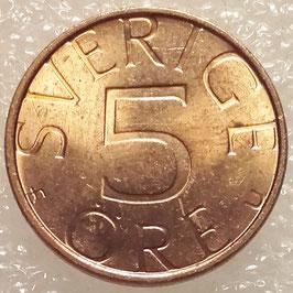 Sweden 5 Öre 1981-1984 KM#849a