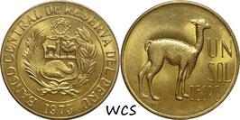 Peru 1 Sol 1966-1975 KM#248