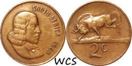 South Africa 2 Cents 1965-1969