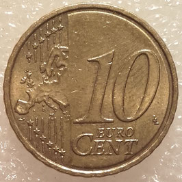 Estonia 10 Cents 2011 KM#64 VF