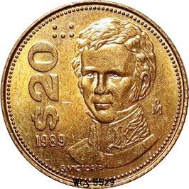 Mexico 20 Pesos 1985-1990 KM#508