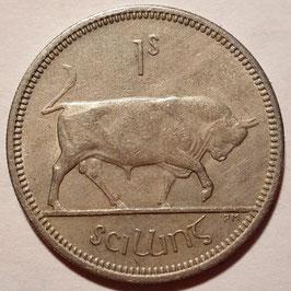 Ireland 1 Shilling 1951-1968 KM#14a