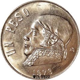 Mexico 1 Peso 1970-1983 KM#460