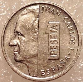 Spain 1 Peseta 1989-2001 KM#832