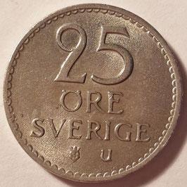 Sweden 25 Öre 1962-1973 KM#836