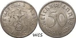 Germany - Third Reich 50 Reichspfennig 1942 A KM#96 VF