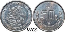 Mexico 50 Centavos 2009-2016 KM#936