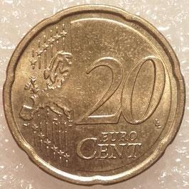 Slovakia 20 Cents 2009 KM#99 VF